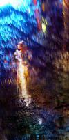 In colored rain by Jorsoran