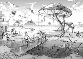 Somewhere in Ascadian Isles by Jorsoran