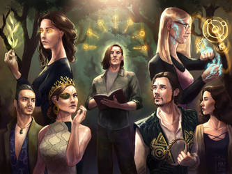 The Magicians Fanart Contest by DjoMaz