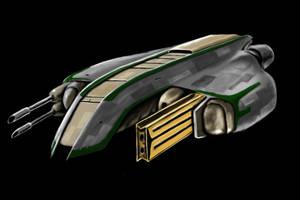 Spacecraft 19 by desuran