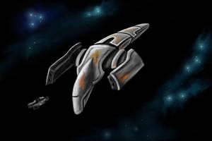 Patrol Ship by desuran