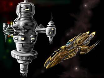 Approaching Starbase Equador for Docking by desuran