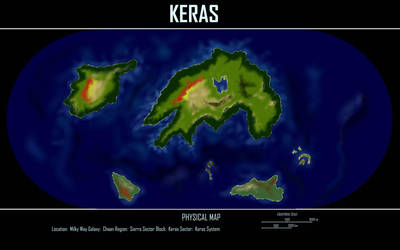 Keras Physical Map by desuran