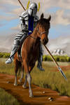 Halkarethian Knight by desuran