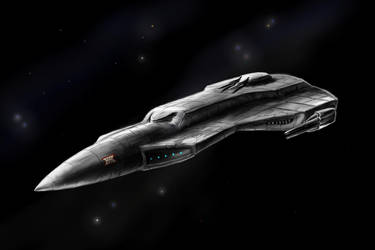 Baegonian Destroyer by desuran