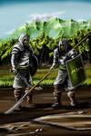 Pah-Ahtonian Infantry by desuran