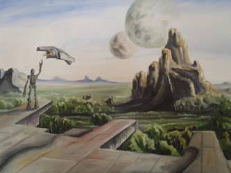Edge of the City by desuran