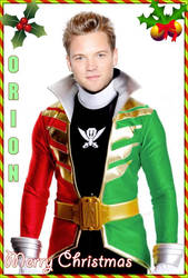 Merry Super Megaforce Christmas 2014 by Bilico86