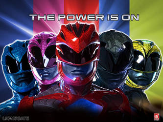 The Power Is On - Power Rangers 2017 movie style by Bilico86