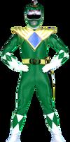 MMPR Green Ranger Alternate by Bilico86