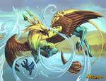 Griffon controleur de l'eau by Ellana01