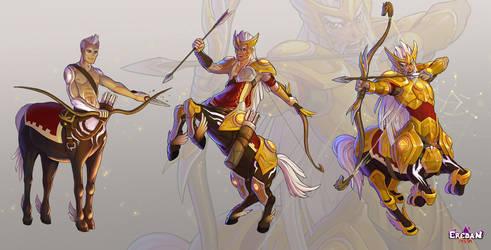 Centauros the sagittarius by Ellana01