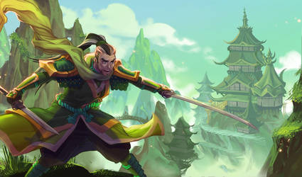 Dragon Master by Ellana01