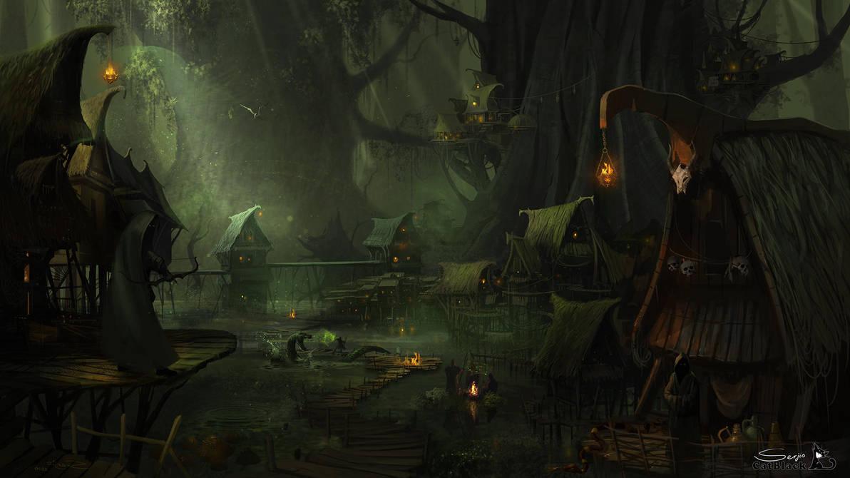dark-forest-by Serjio by serjio-c