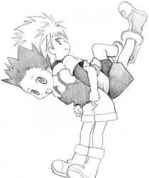 Killua Gon by Bersi-Chan