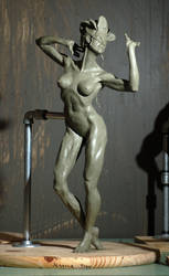 Masked Dancing Woman by JessicaDru