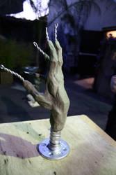 Sculpture: Rough Hand by JessicaDru