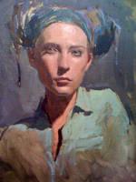 Portrait of me by JessicaDru