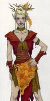 Druid Colored by JessicaDru