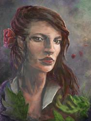 Woman's portrait - n 1 by Capestranus