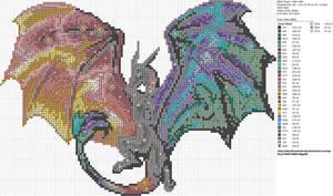 Nebula Dragon by carand88
