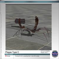 Las Plagas RE4 Type C by Adngel