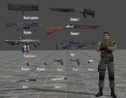 Inventory Weapons Pack RE: Remake by Adngel