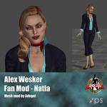 Alex Wesker FanMod Natla by Adngel