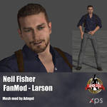 Neil Fisher FanMod Larson by Adngel