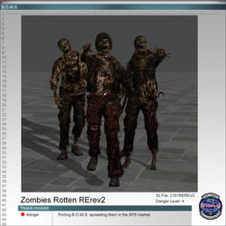 Zombie Rotten RE rev 2 by Adngel