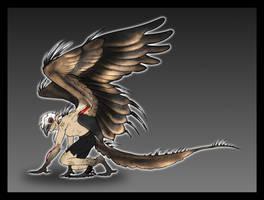 C-E   WingedWolfAlari by TalonV