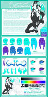 Orcadragon Species Sheet by JunkYardRabbit