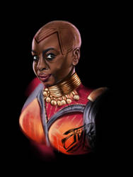 Okoye by JunkYardRabbit