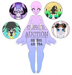 Custom Orcadragon Auction [CLOSED] by JunkYardRabbit