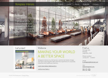 Commercial interior studio site by DenisYakovlev