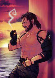 Big Boss MGSV: Phantom Pain by TricksyPixel