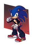 Sonic Fighter by TricksyPixel