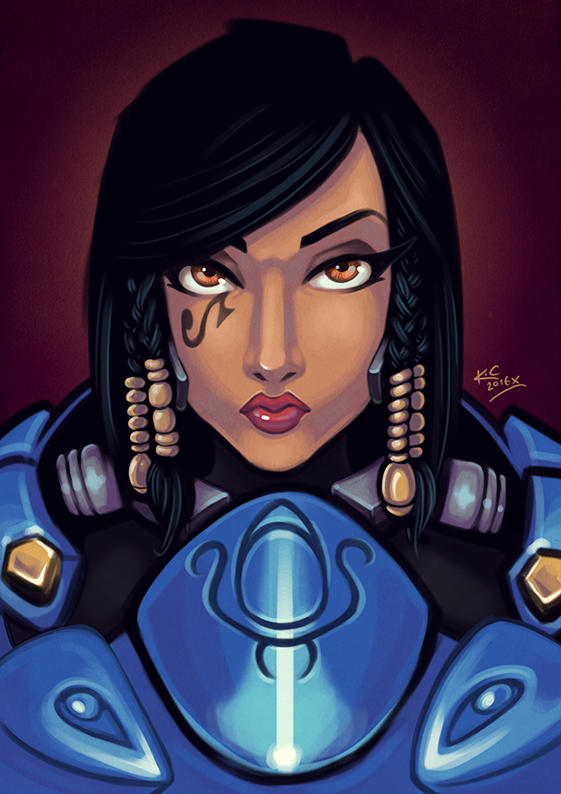Overwatch - Play Nice, Play Pharah. by TricksyPixel