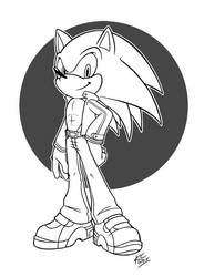 Sonic Battle II outfit by TricksyPixel