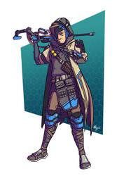 Overwatch - Ana Jono by TricksyPixel