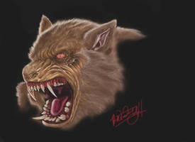 werewolf painter by spdmngtruper
