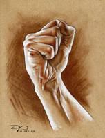 Hands by DvillarrealArt