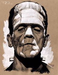 Frankenstein by DvillarrealArt