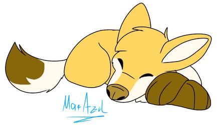wolf CLOSED by Mar-Azul74