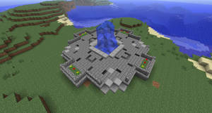 Minecraft Courtyard Thing by Cosmic155