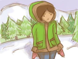 Winter Girl by foxcat42