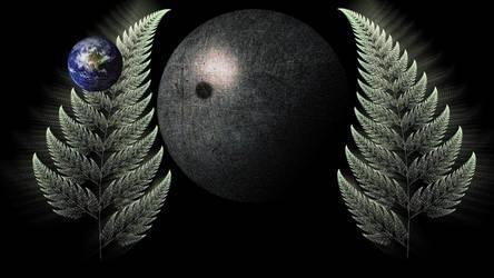 Earth...moon by Britton30