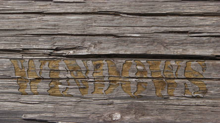 Old Wood Wall by Britton30