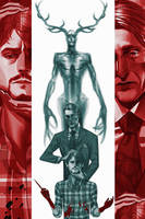 Hannibal and Will by EdoTastic
