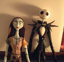 Jack and Sally figures by Radiolarian